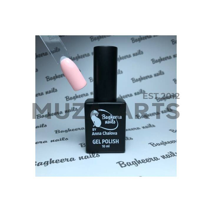 BN-87, тёплый розовый Гель-лак BAGHEERA NAILS